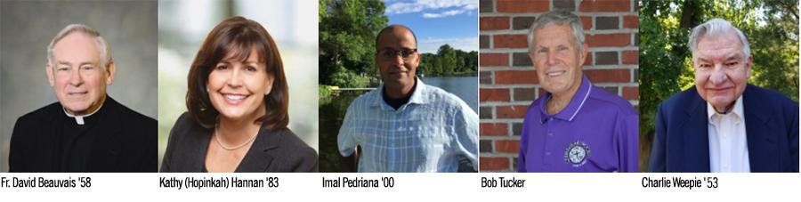 Loras college Distinguished Alumni Recipients